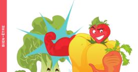 Super-aliments : Le best of des fruits & légumes [Livre]